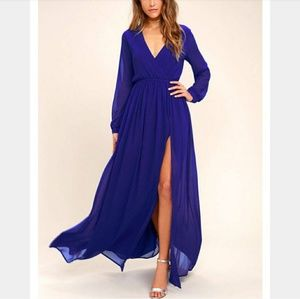 NWT LULUS Maxi dress